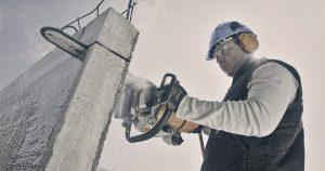 Демонтаж бетона ударными и безударными способами